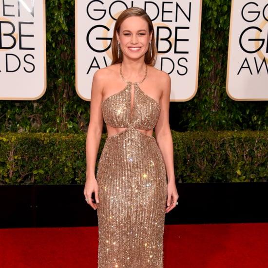 Brie Larson at Golden Globe Awards 2016