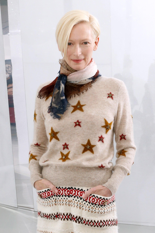 Tilda Swinton at Chanel