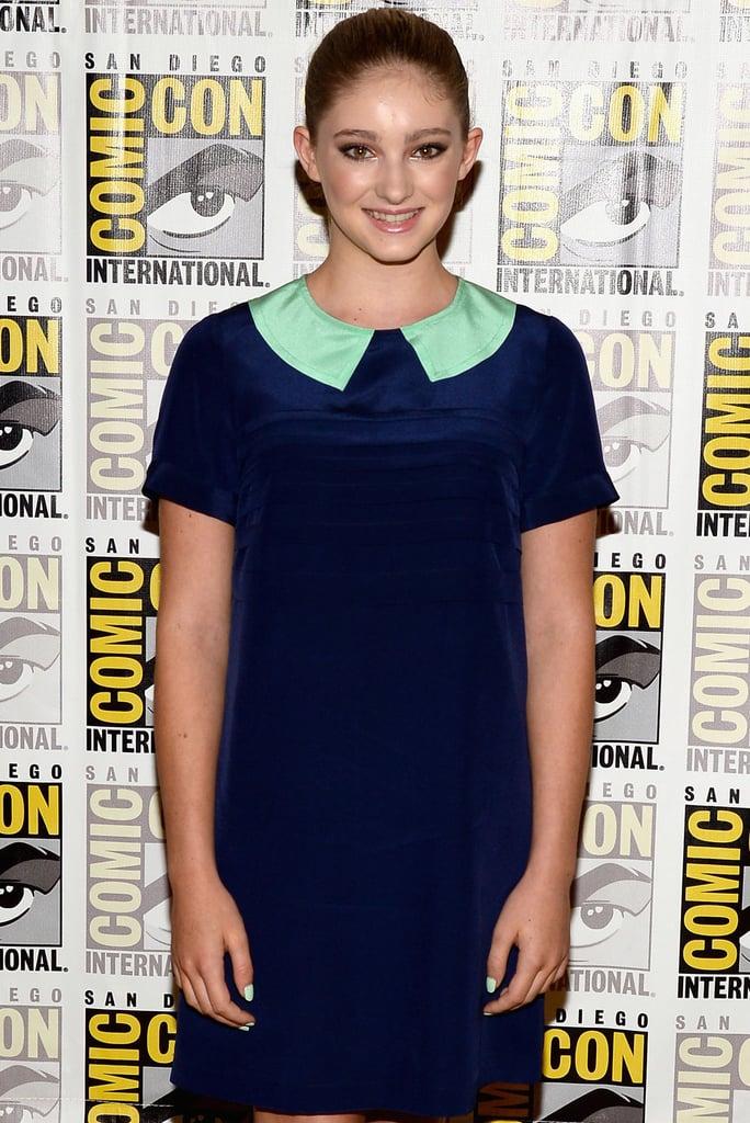 Willow Shields as Prim Everdeen