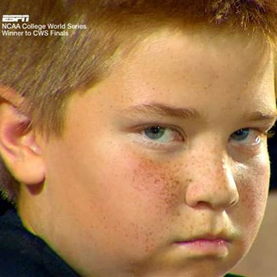 Kid Stares During NCAA College World Series | Video