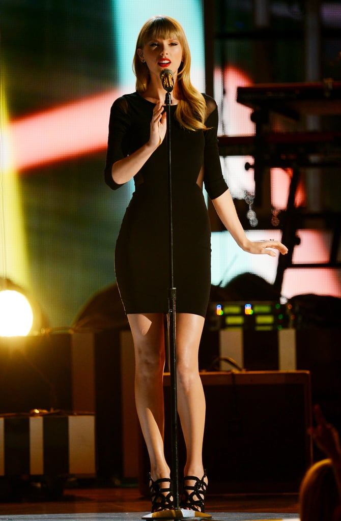 Taylor Swift performed at the event.