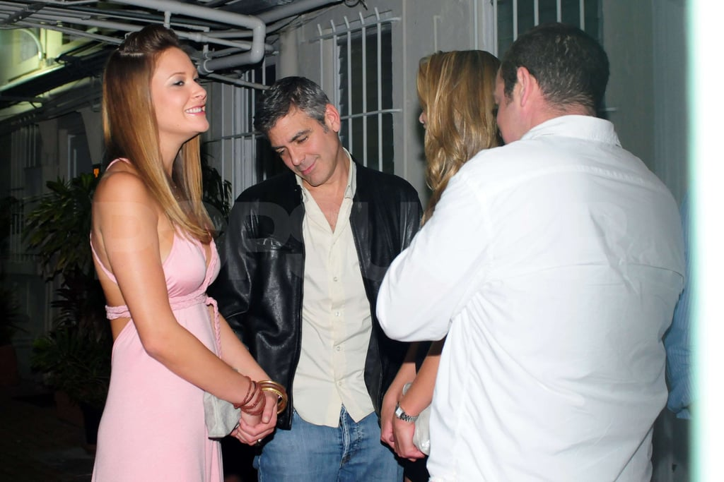 Clooney Parties in South Beach