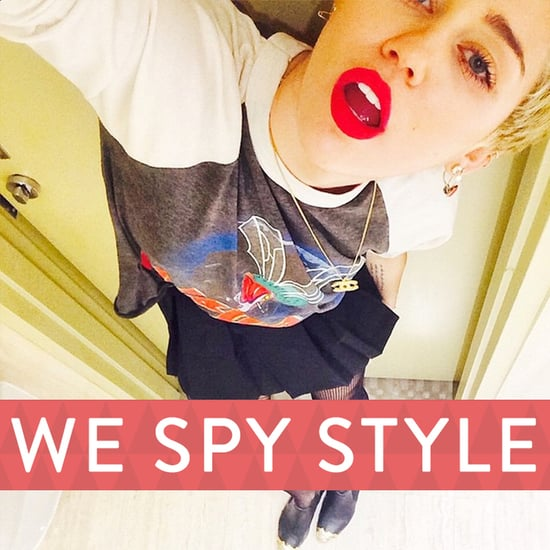 We Spy: See Which Skirt Gets Miley Cyrus Laid . . .