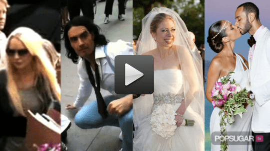Time Lindsay Lohan Spent in Jail, Video of Russell Brand Filming Arthur in NYC, and Pictures of Chelsea Clinton at Her Wedding 2010-08-02 14:35:00
