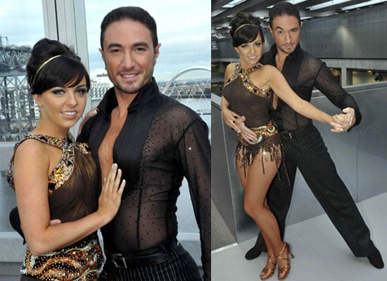 Photos Of Eastenders' Louise Lytton And Strictly Come Dancing's Vincent Simone In Costume For the Eurovision Dance Contest