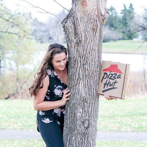 Pizza Engagment Photos