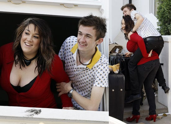 Photos Of Big Brother 9's Luke Marsden And Rebecca Shiner Moving In Together