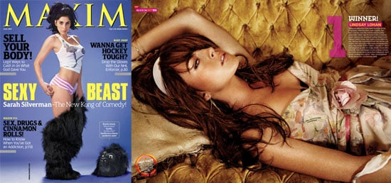 Lindsay is #1! Lindsay is Maxim Hot 100's #1!