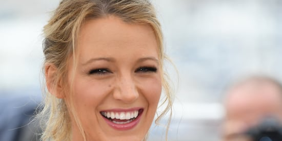 Pregnant Blake Lively Is A Vision In A Red Jumpsuit At Cannes