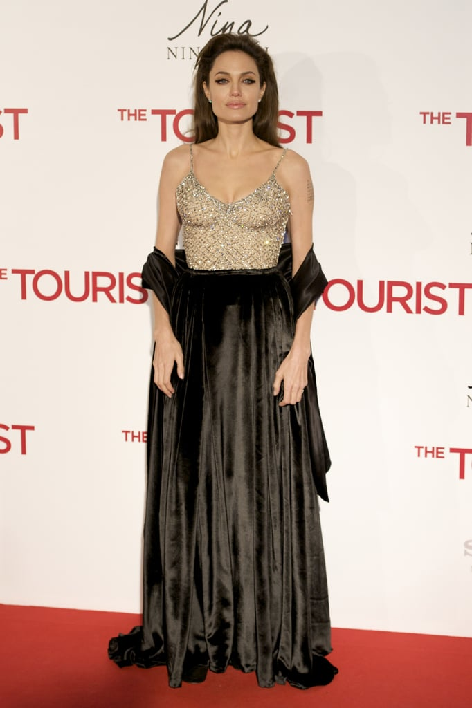 Angelina Jolie at the 2010 Madrid Premiere of The Tourist