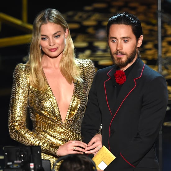 Jared Leto and Margot Robbie at Oscars 2016