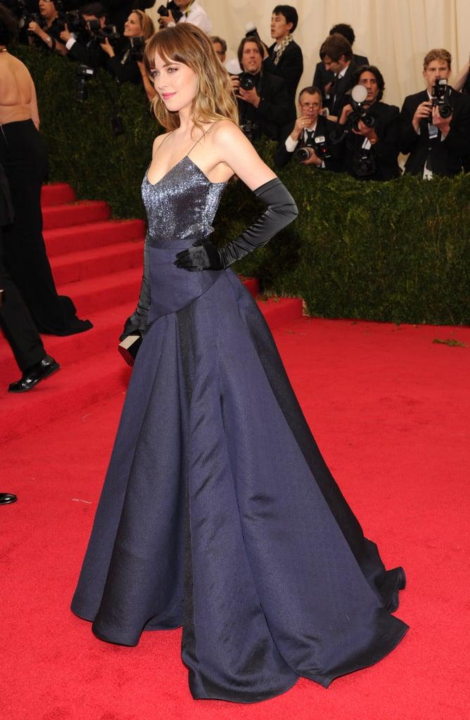 Dakota Johnson Dazzles in Shades of Blue