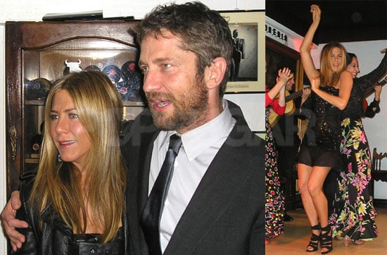 Photos of Jennifer Aniston and Gerard Butler After the Madrid Premiere For The Bounty Hunter