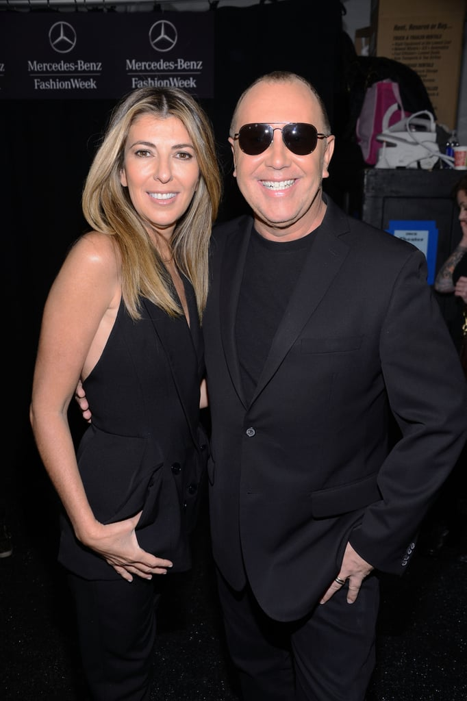 Nina Garcia and Michael Kors channeled the same fashion wavelength donning all-black ensembles during the Project Runway show.