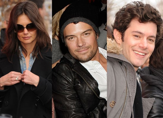 Photos of the Cast of The Romantics including Katie Holmes, Adam Brody, Josh Duhamel at Sundance Film Festival 2010