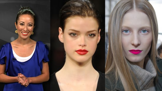New York Fashion Week Fall 2011 Trend Report: Bold Lip Color