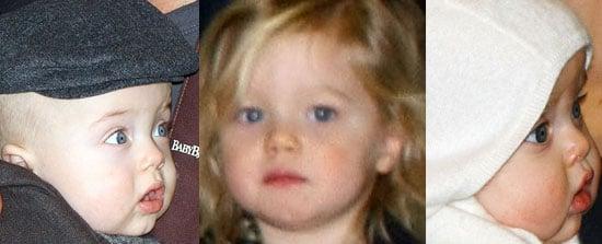 Mini Mes: Shiloh, Vivienne, and Knox Jolie-Pitt