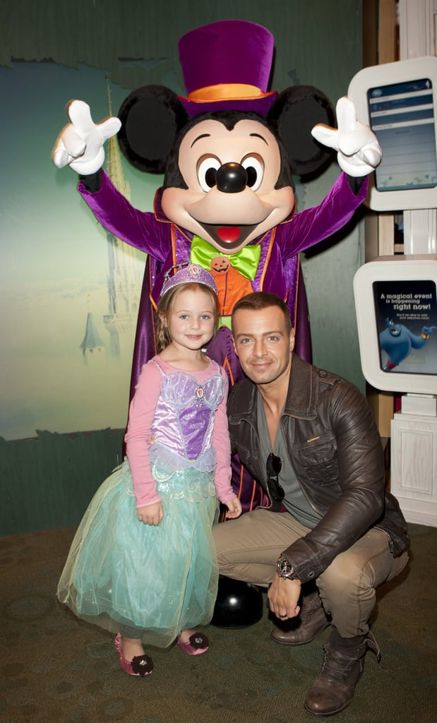 Joey Lawrence and His Daughter