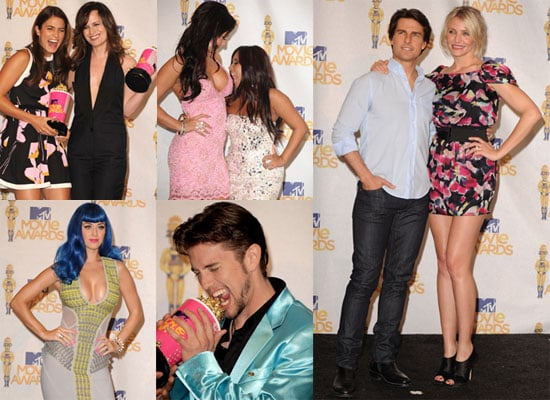 Pictures of Cameron Diaz, Tom Cruise, Nikki Reed, Katy Perry, And Jackson Rathbone at The MTV Movie Awards Press Room 2010-06-07 16:00:12