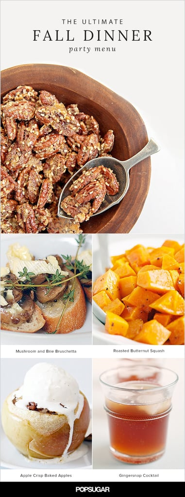 The Ultimate Fall Dinner Party Menu