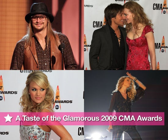 A Taste of the Glamorous 2009 CMA Awards!