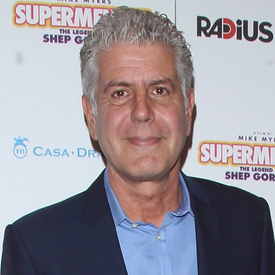 Anthony Bourdain as a Cartoon Character