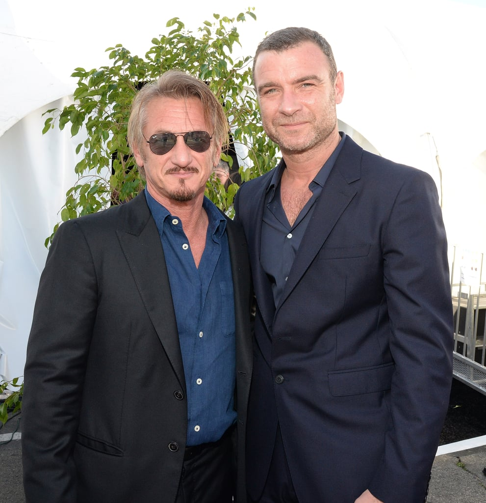 Pictured: Sean Penn and Liev Schreiber