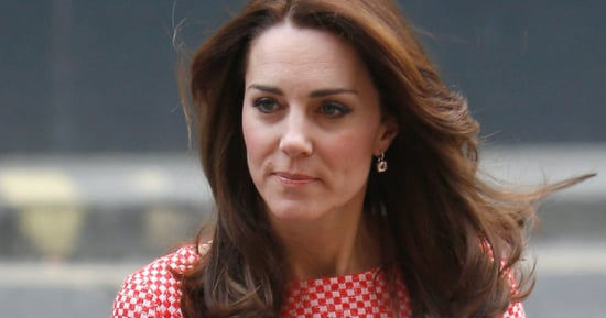 The Duchess Of Cambridge Ditches Her Coats For A Playful Print