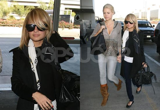 Nicole Richie Takes Out Her New Mop