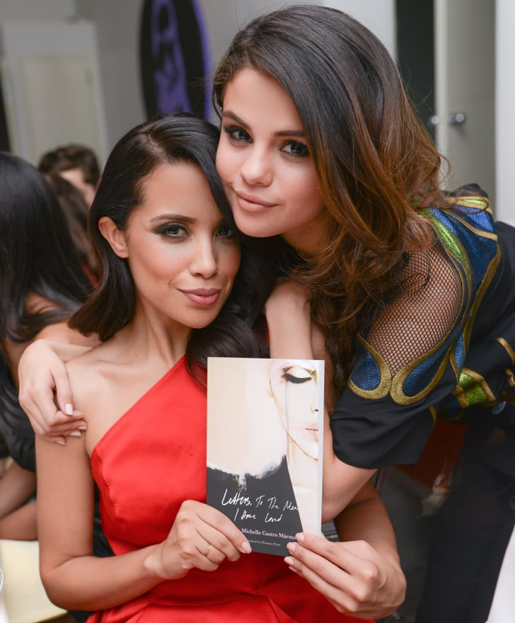 Selena met with the woman of the hour, author Mirtha Michelle.