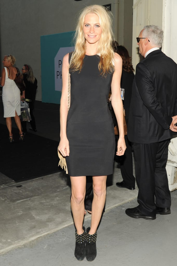Poppy Delevingne at the Paris Photo opening night in Los Angeles. Source: Neil Rasmus/BFAnyc.com