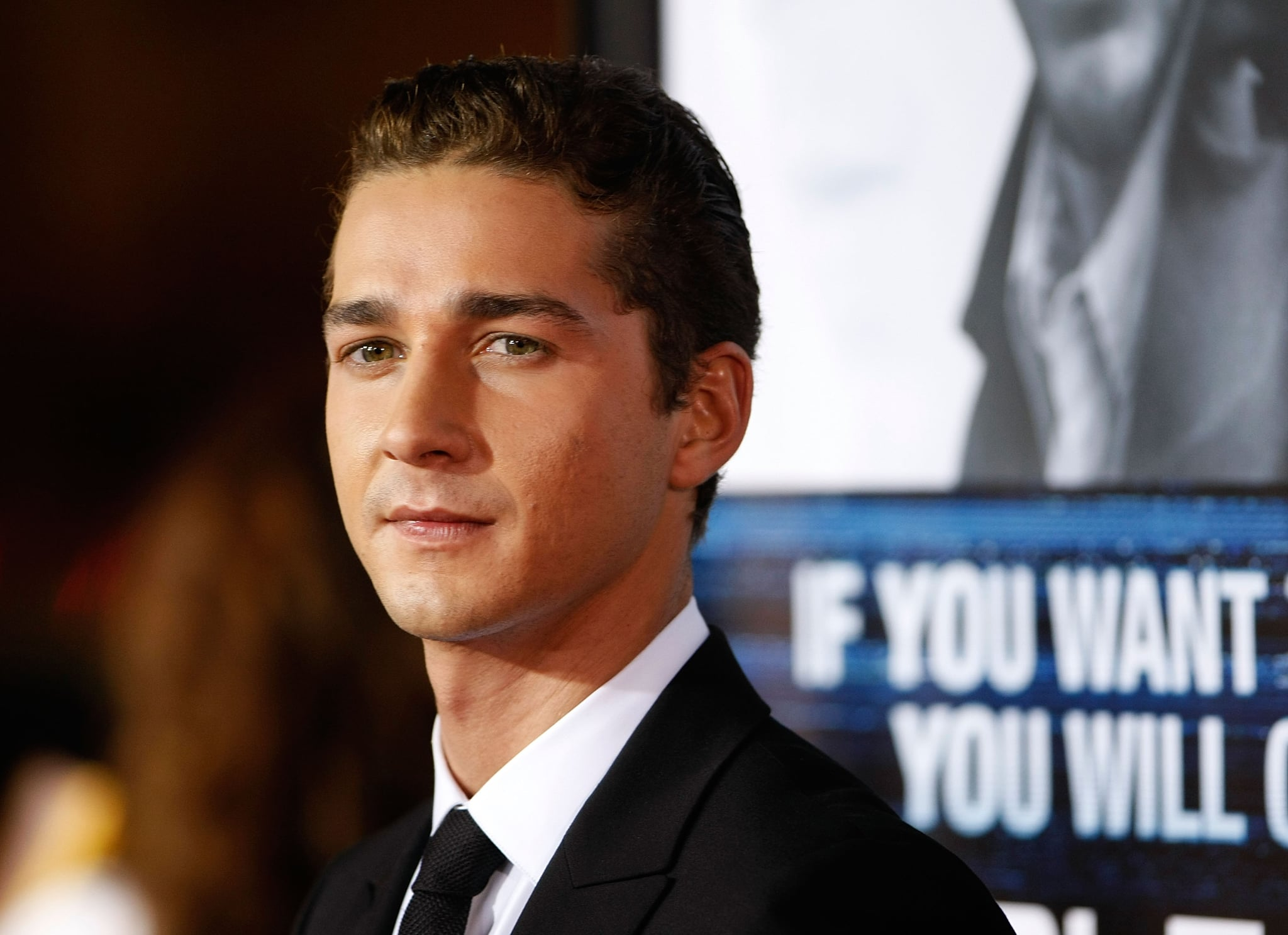 Shia gave off a sexy stare at the LA premiere of Eagle Eye back in September 2008.