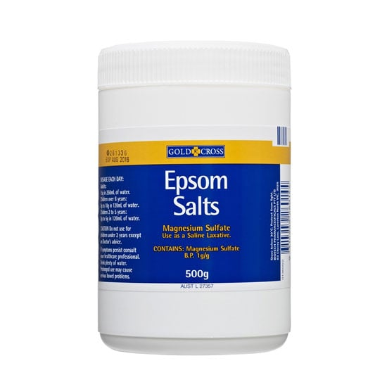 Epsom Salts For Hair and Skin