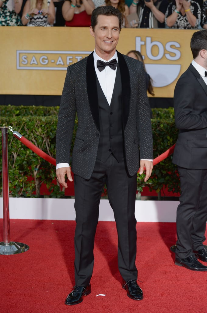 Matthew McConaughey at the Screen Actors Guild Awards