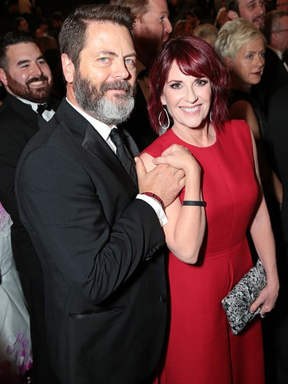 Megan Mullally on Husband Nick Offerman's Facial Hair: 'I Married the Reigning Mustache Champion'