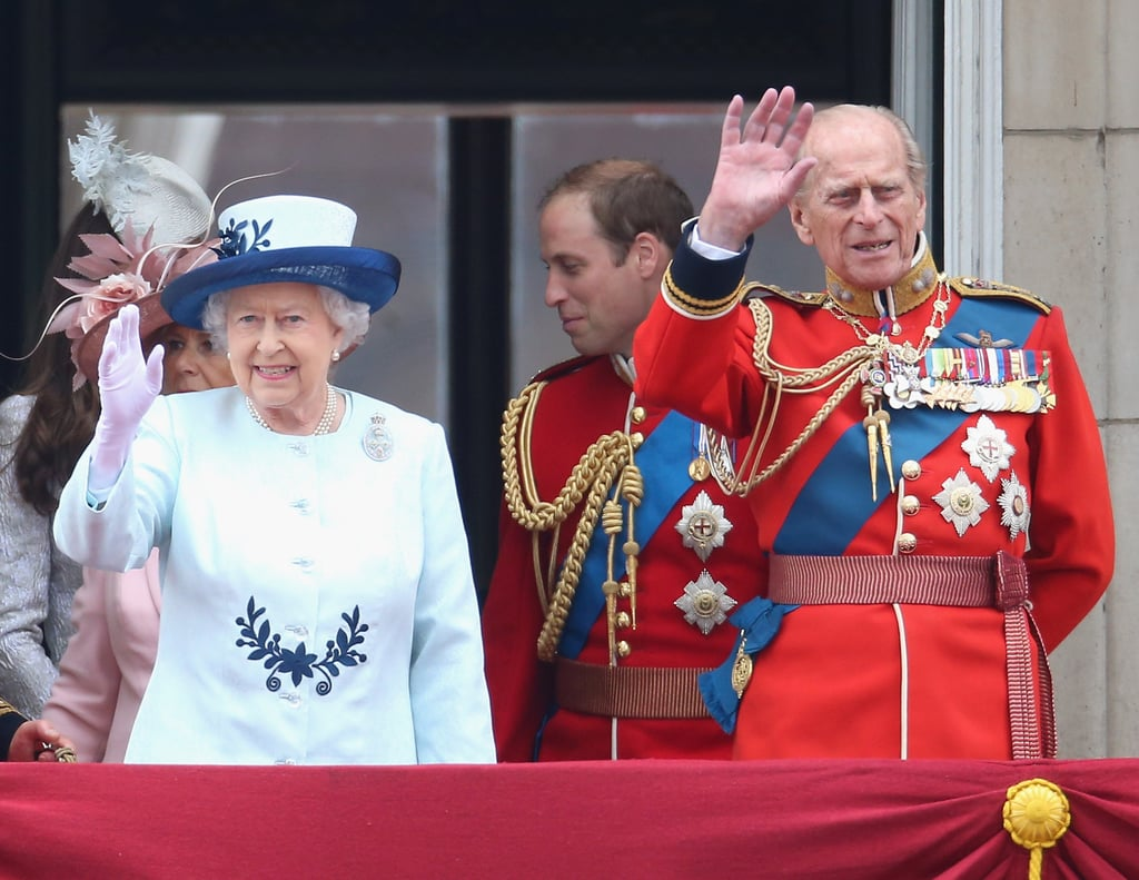 It's a Royal-Family Affair For Trooping the Colour