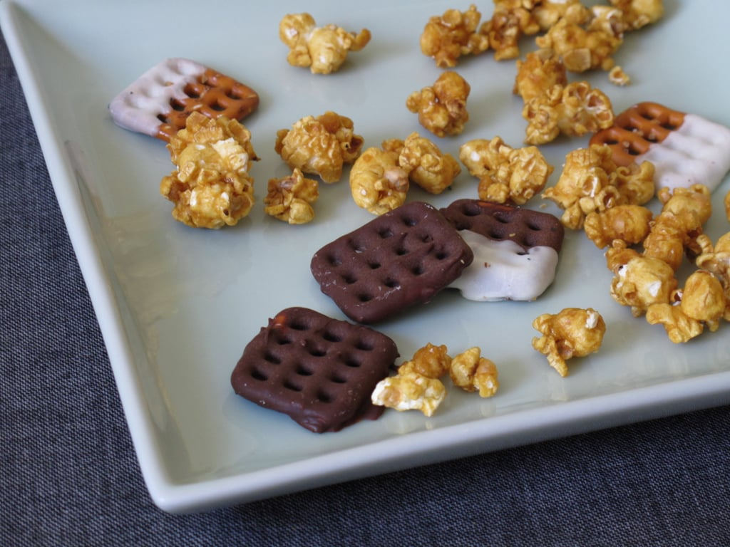 Add excitement to snack mixes.