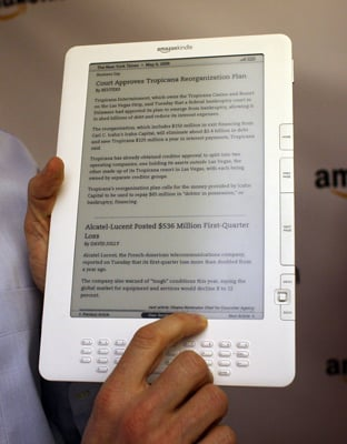 Kindle DX Starts Shipping From Amazon Today