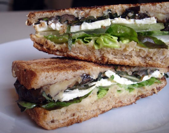 Sugar Shout Out: Make the Minty Greek Eggplant and Feta 'Wich