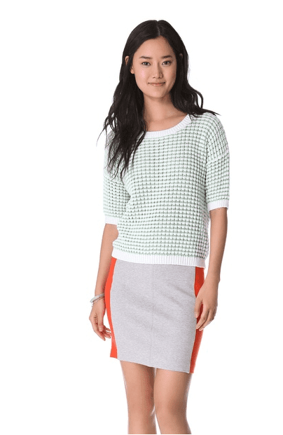 Club Monaco's Niki Sweater ($78, originally $130) will lend a smart finish to tailored shorts or your favorite pencil skirt.