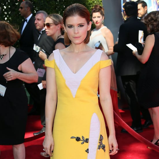 Kate Mara Yellow Dress at the Creative Arts Emmys
