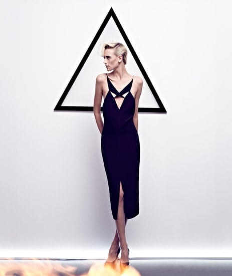 Geometric shapes and a monochromatic palette rule the Cushnie et Ochs Spring '12 ads. Source: Fashion Gone Rogue