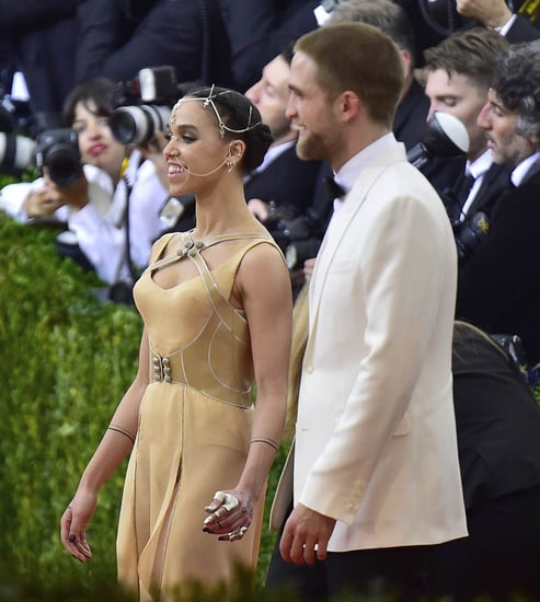 FKA twigs and Robert Pattinson at the 2016 MET Gala