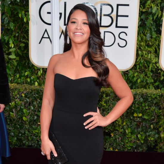 Gina Rodriguez Gives Her Golden Globes Dress to a Fan