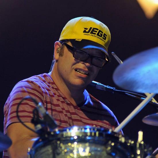 Weezer Drummer's Frisbee Catch | Video
