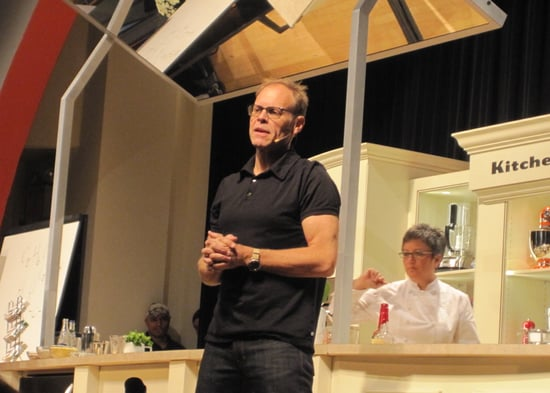 Quotes From Alton Brown's Demo at the New York City Wine and Food Festival