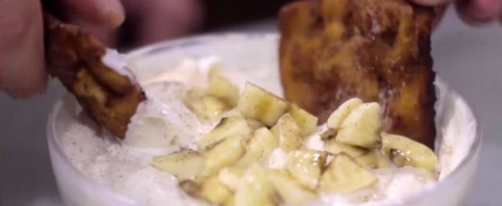 ZOMG! A Can of Cinnamon Rolls Transforms Into Chips and Dip