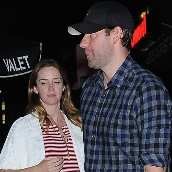 Emily Blunt and John Krasinski Out in LA May 2016