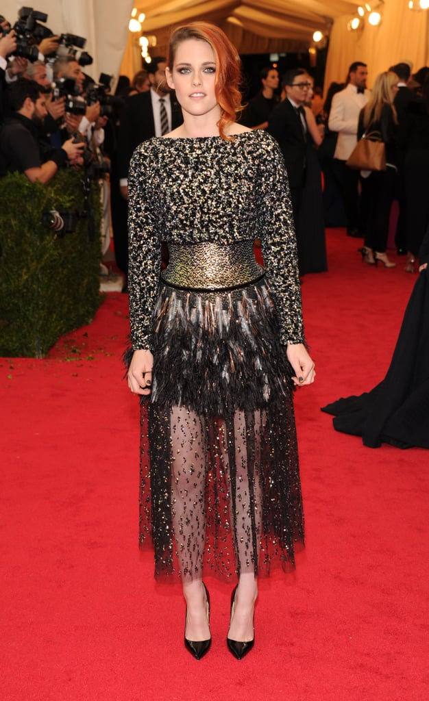 With the Met Gala Over, Kristen Stewart Goes Back to Her Old Ways