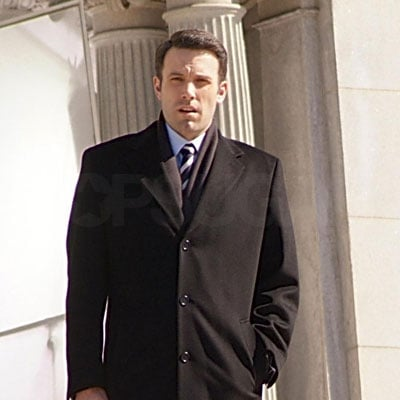 Ben Affleck on the Set of State of Play